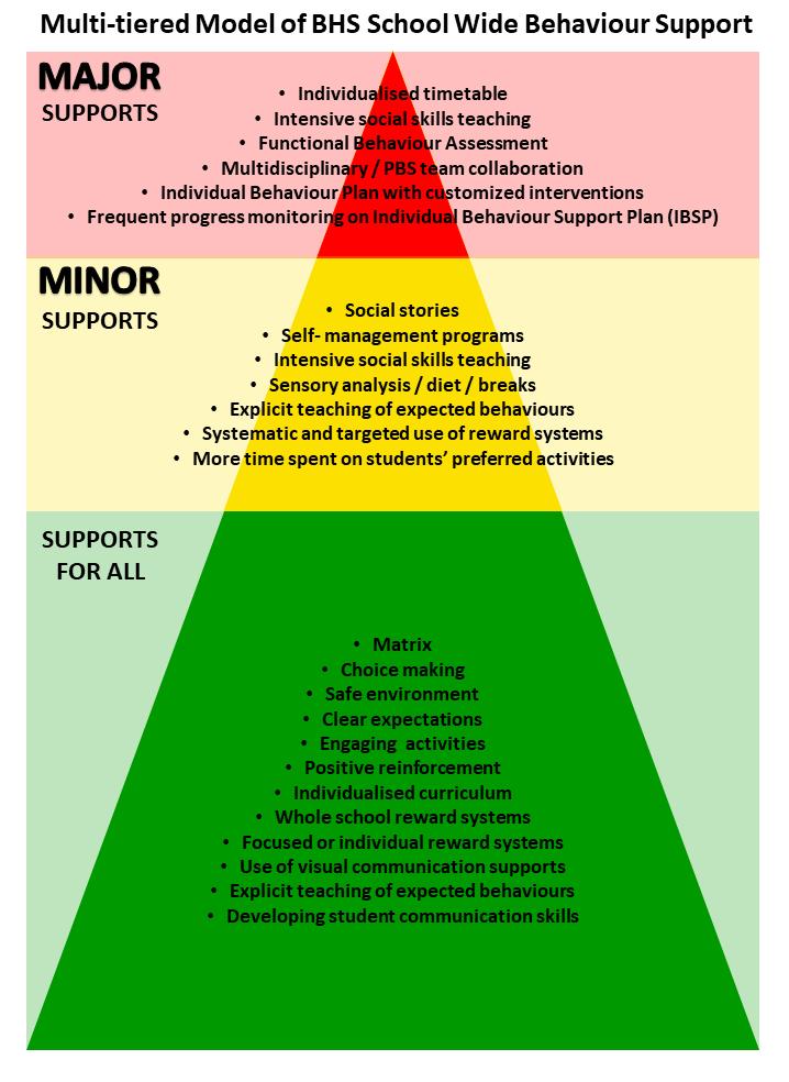 SWPBS support model